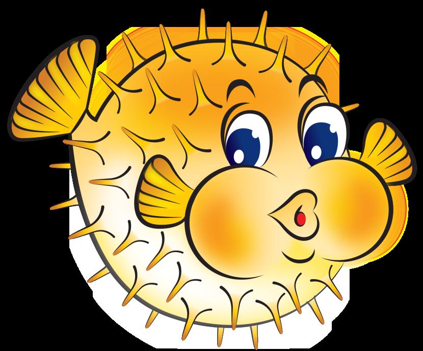 Pufferfish clipart Cliparting clipartix clipart Fish com