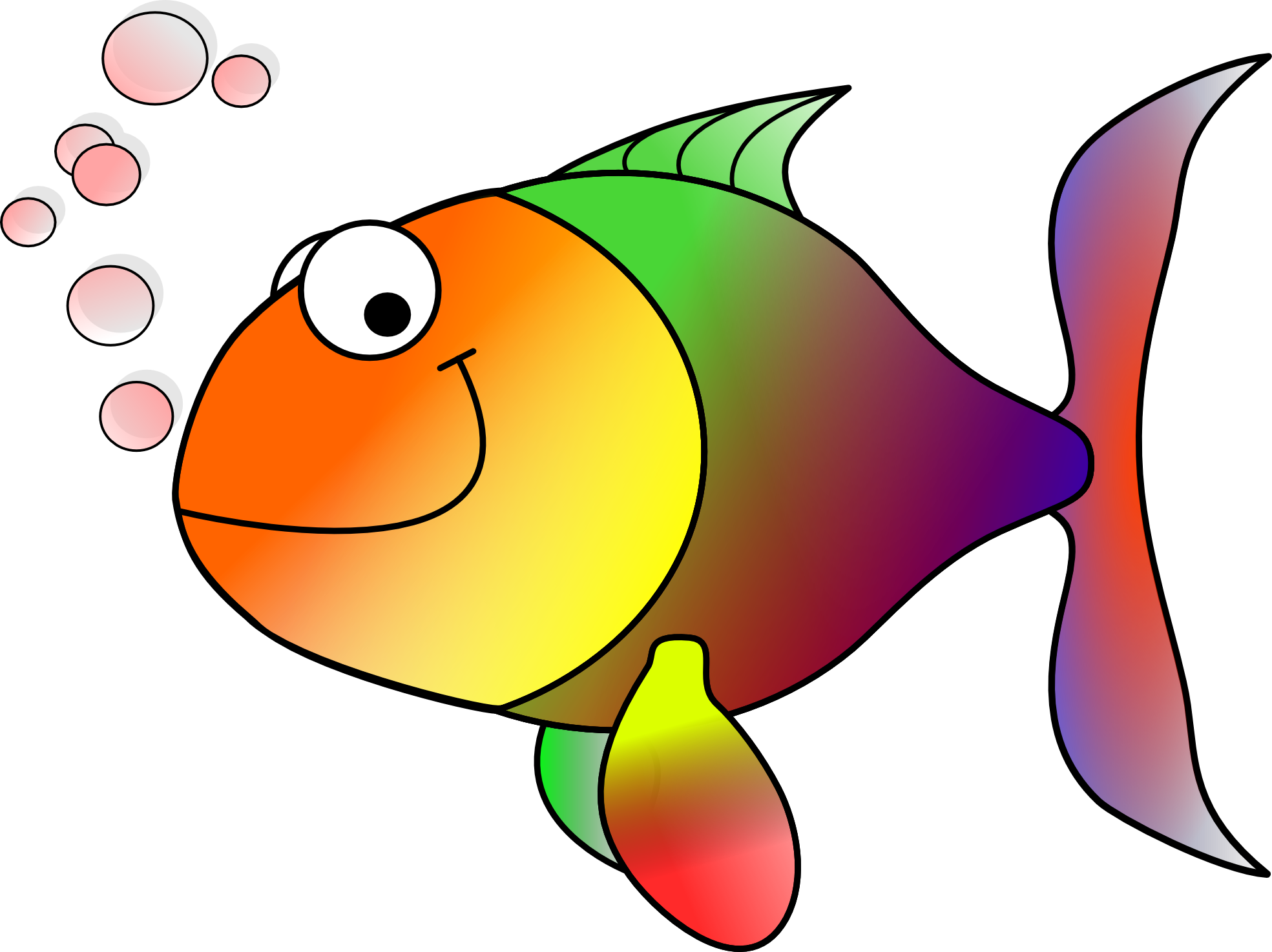 Light Blue clipart fish Fish Free Panda Tropical Clipart