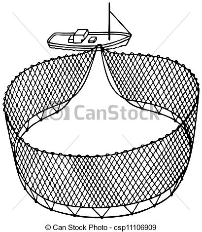Fish Net clipart fish scale 698 and fishnet Stock boat