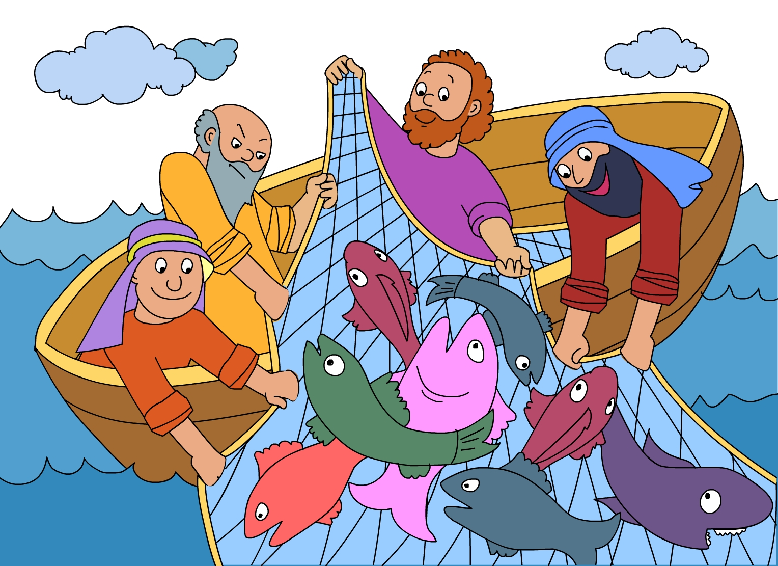 Fishing Net clipart kid Is This the of Jesus