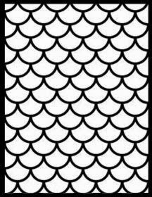 Fish Net clipart fish scale Scales Scallops/Fish Friday + Free
