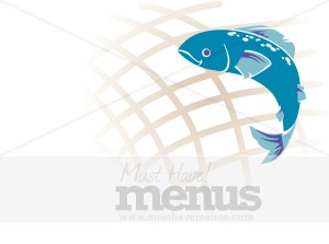 Fish Net clipart full fish Seafood Clipart Net Clipart Fish