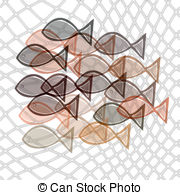 Fish Net clipart full fish Of 1 fishes catched net