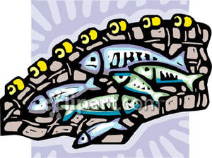 Fish Net clipart full fish Royalty Clipart Picture In Fishing
