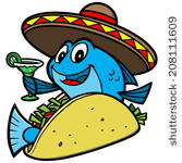 Fish Taco clipart taco bar Fish Fish Taco Download Clipart