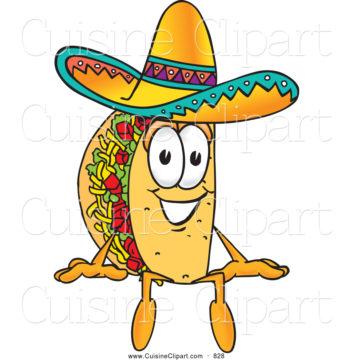 Fish Taco clipart Taco com Cowboy Free ClipartWar