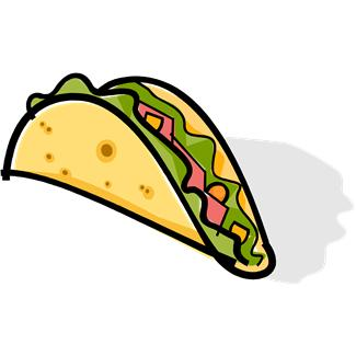 Taco clipart vector Clipartix 4 clipart Animated images