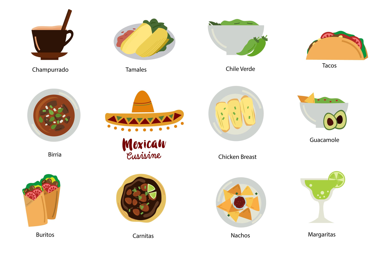 Taco clipart hispanic food  mexican mexican digital file