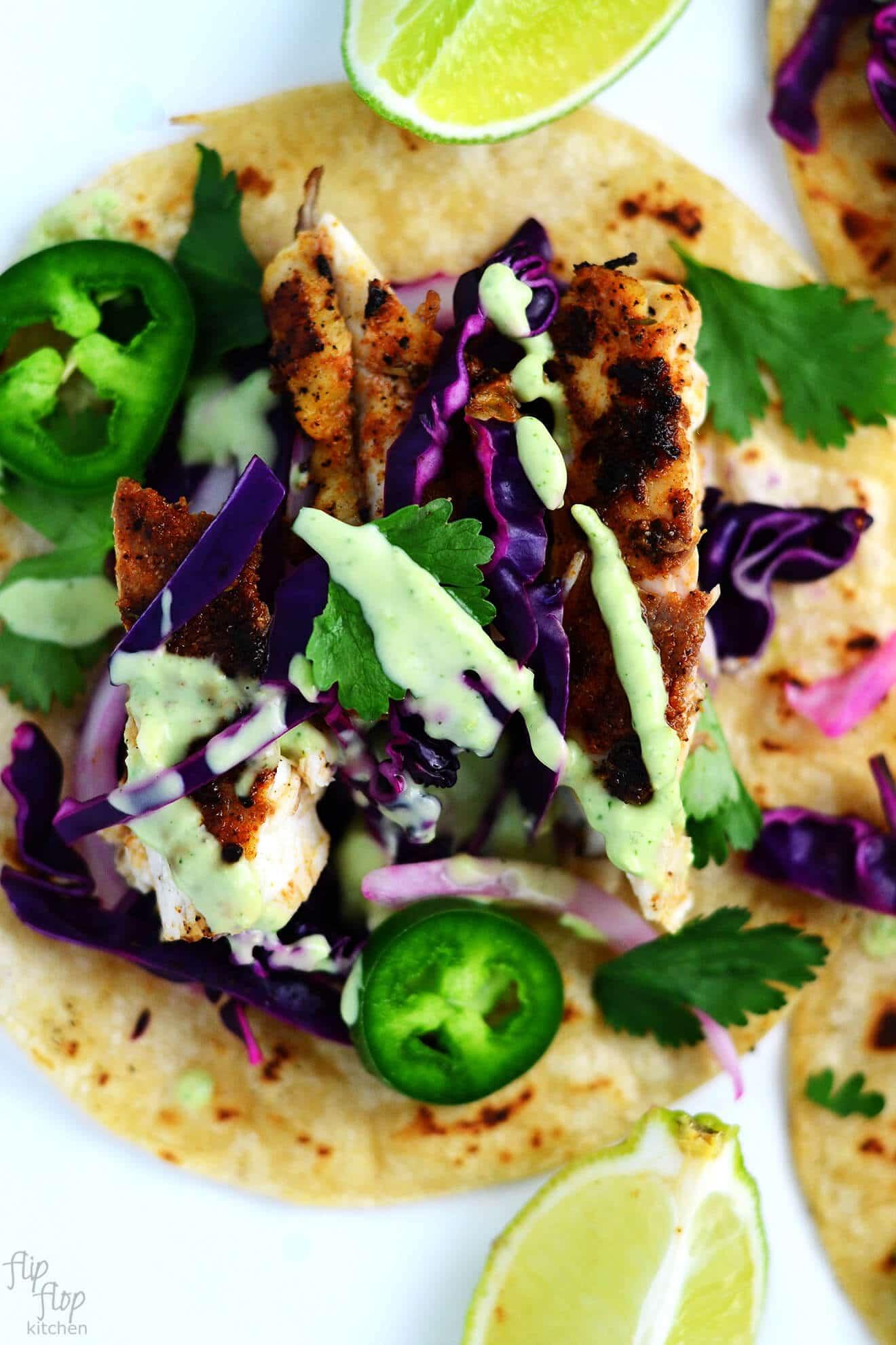Fish Taco clipart tortilla Tacos Slaw Cabbage Red So