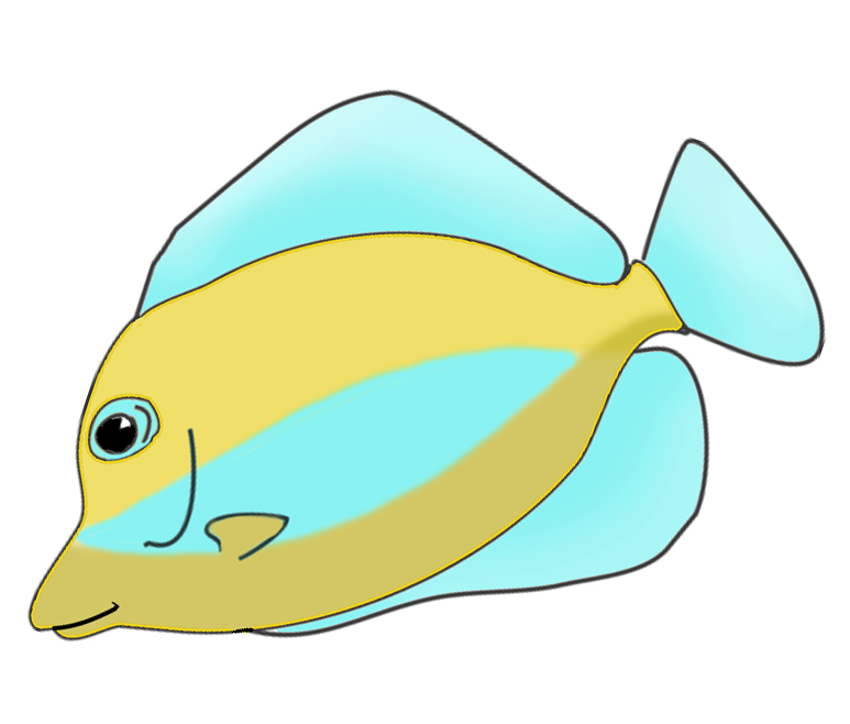 Angelfish clipart beautiful fish  Art Clip Fish