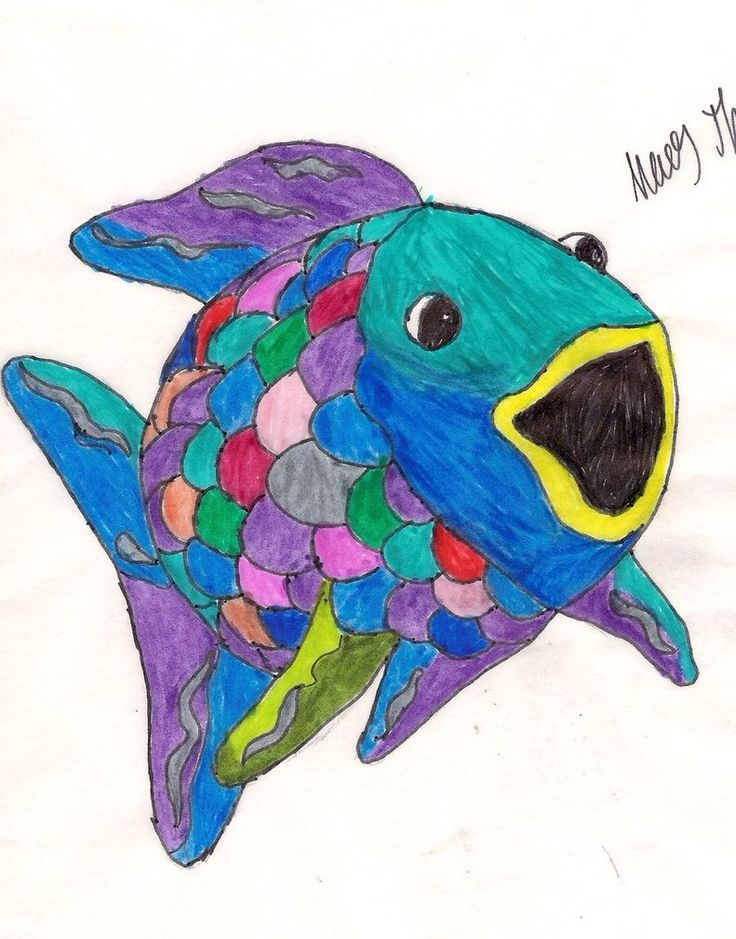 Neon clipart rainbow fish By ~AceTeddyBearOfDoom Pinterest 161 rainbow