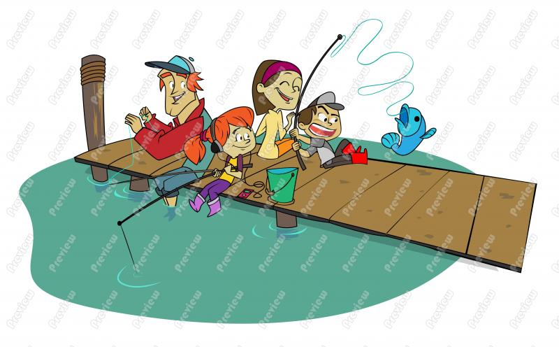 Fisherman clipart animated Art Clip Cartoon Royalty Fishing