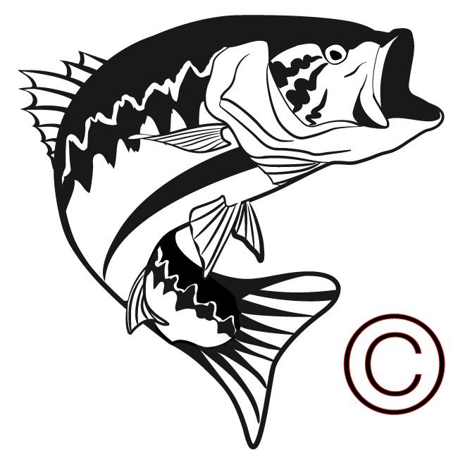 Fisherman clipart bass fishing Photo#3 silhouette clipart Silhouette Bass