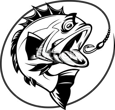 Fisherman clipart bass fishing Ryby images Free best on