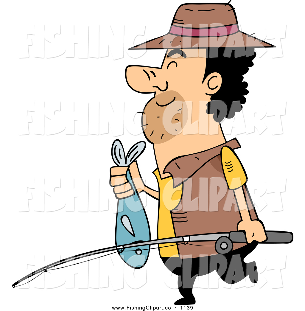 Fisherman clipart little boy And Fisherman Art a Cartoon