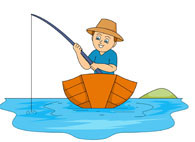 Fisherman clipart catch fish Fish Free catching Pictures 51