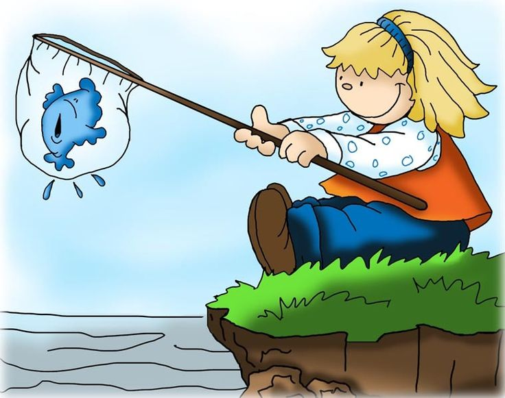 Fisherman clipart go fish #9
