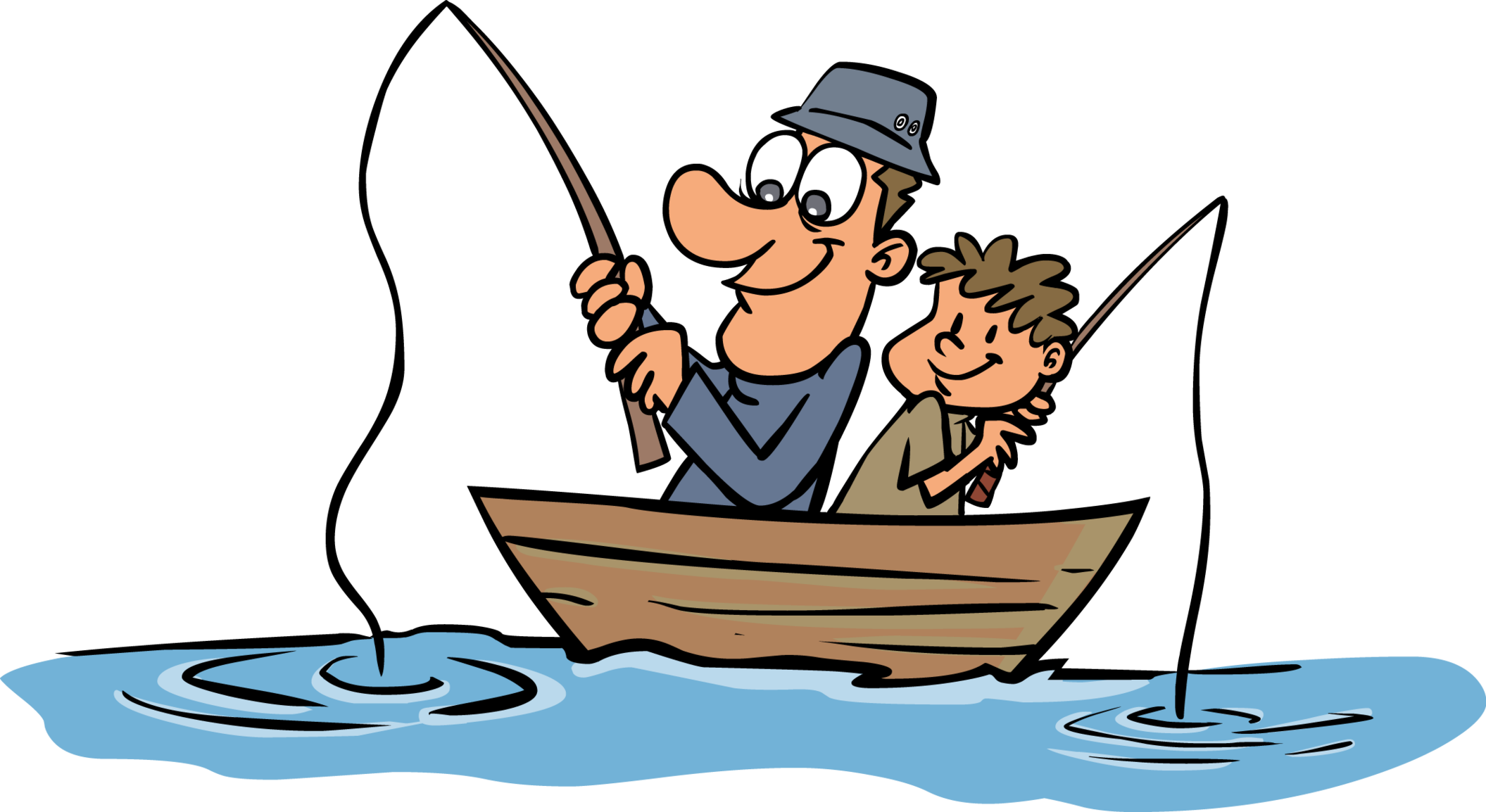 Fisherman clipart go fish #4