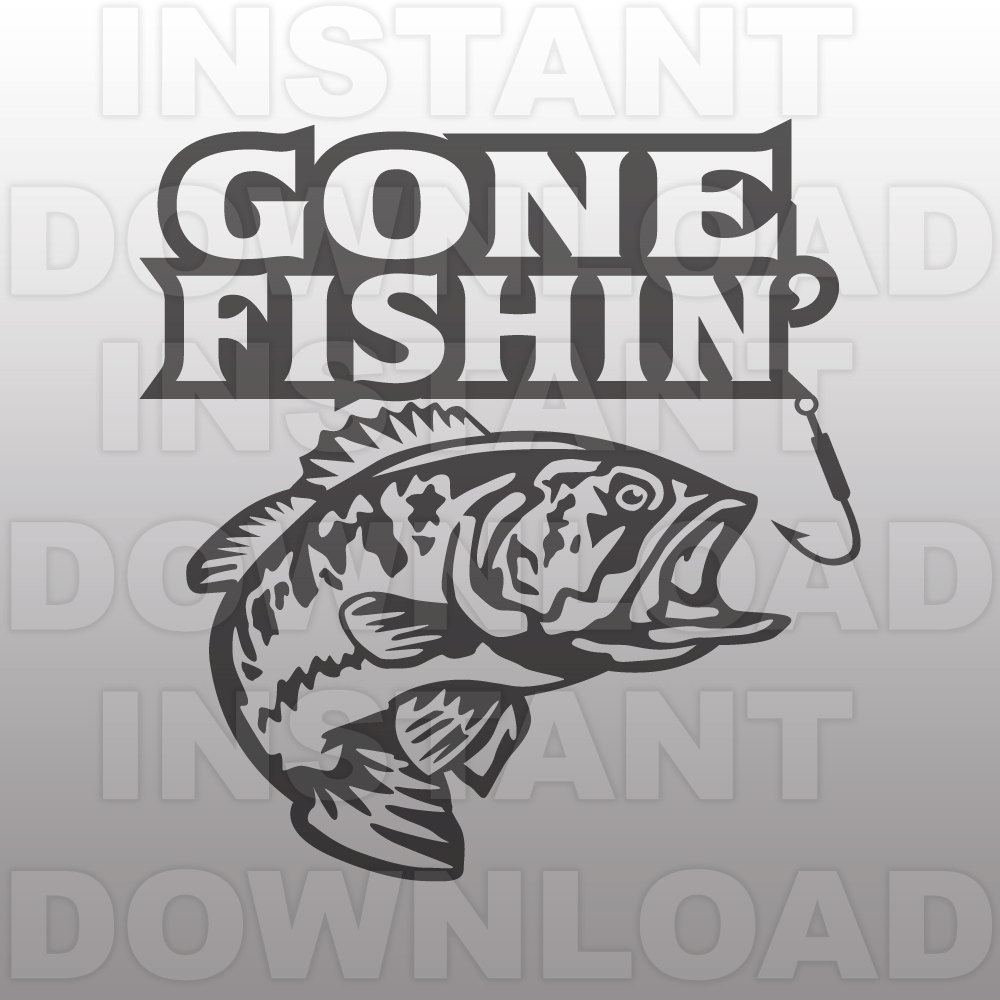 Fisherman clipart gone fishing #11