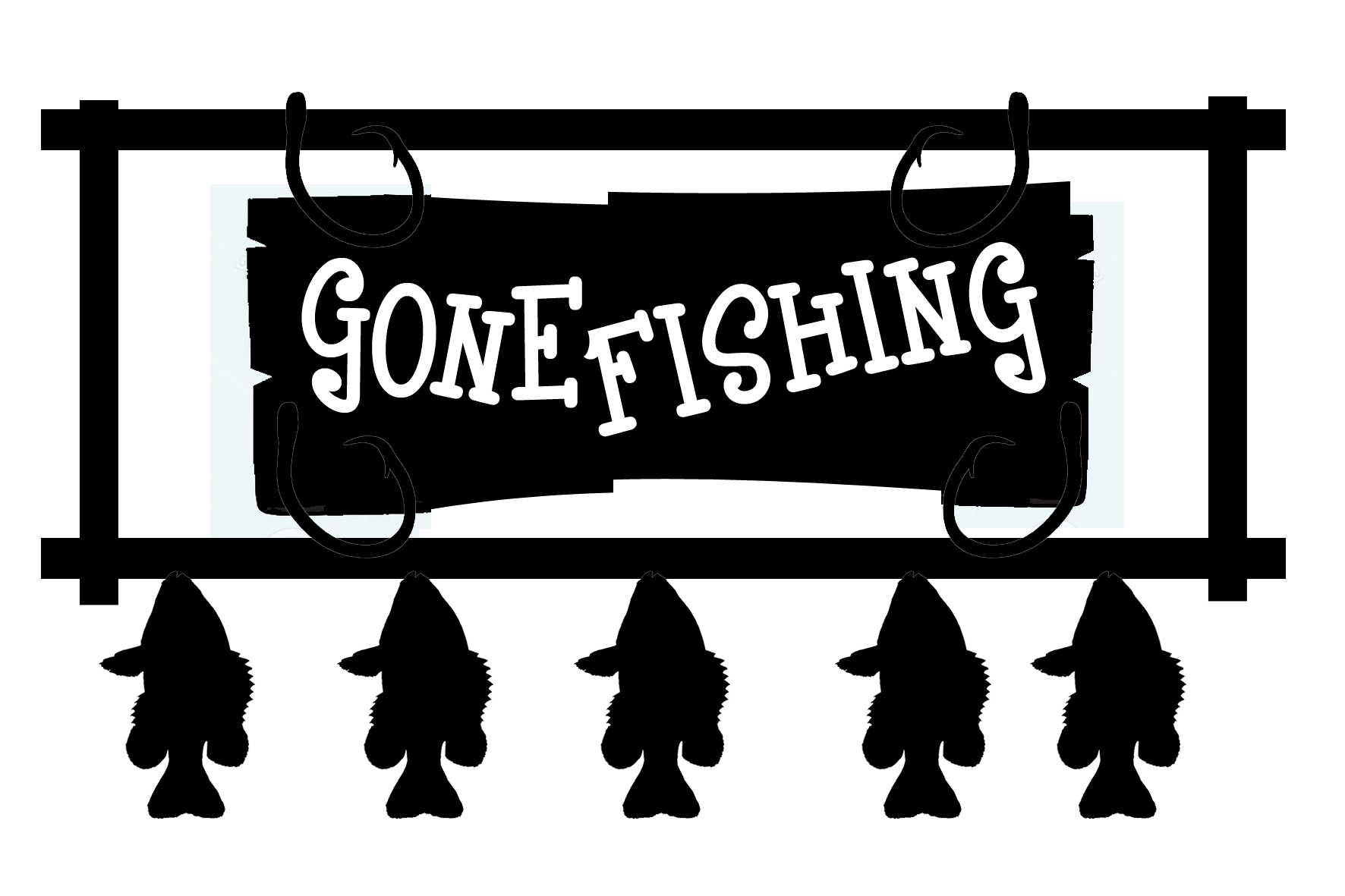 Fisherman clipart gone fishing #15