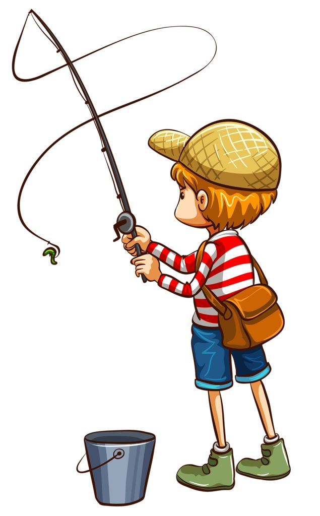 Fisherman clipart gone fishing #12