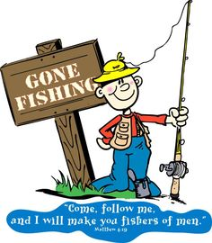 Fisherman clipart gone fishing #7