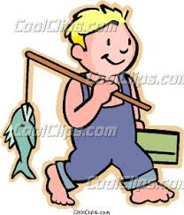 Fisherman clipart little boy Drawing fishing his with