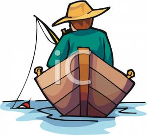 Fisherman clipart ship A of Clipart Boat Royalty
