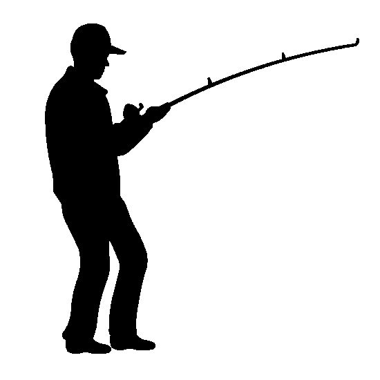 Fisherman clipart silhouette On 36 Fishing best images