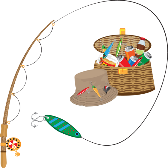 Birthday clipart fishing Clipart Fishing Lure  Collection