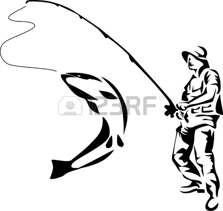 Fishing Rod clipart trout fishing Fly Clipart Clipart Fishing Pole