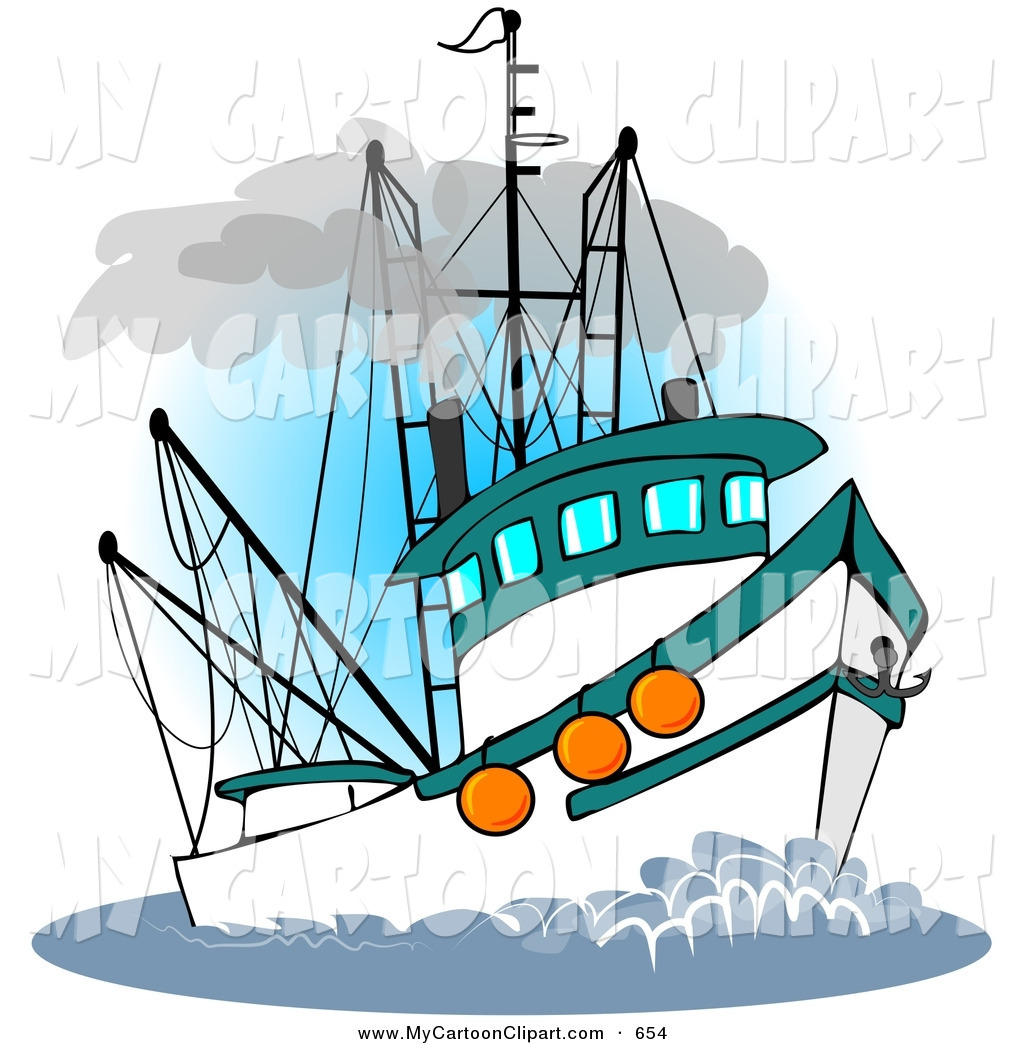 Fishing Boat clipart Free art Free of —