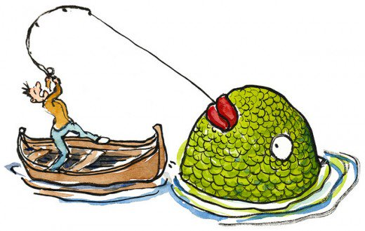 Fishing Net clipart huge Dreaming The feels than catching