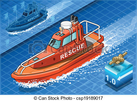 Boat clipart rescue boat Boat Boat csp19189017 Navigation of