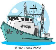 Fishing Net clipart trawler Clipart  Fishing Trawler