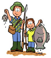 Fishing clipart And Gifs fishing Clipart dad