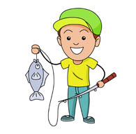 Fishing clipart Fish Fishing Clip small Kb