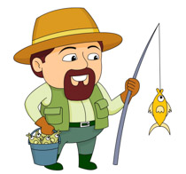 Fishing clipart Fishing Pictures Graphics Size: Fishing