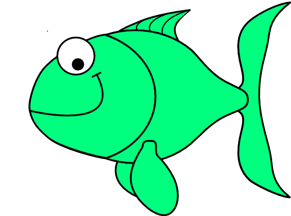 Fins clipart green fish Vector  clip for about