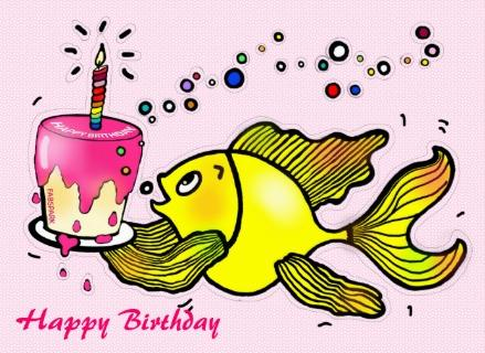Birthday clipart fishing Search Search birthday Happy Birthday