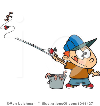 Birthday clipart fishing Free Clip Clip Clipart Images