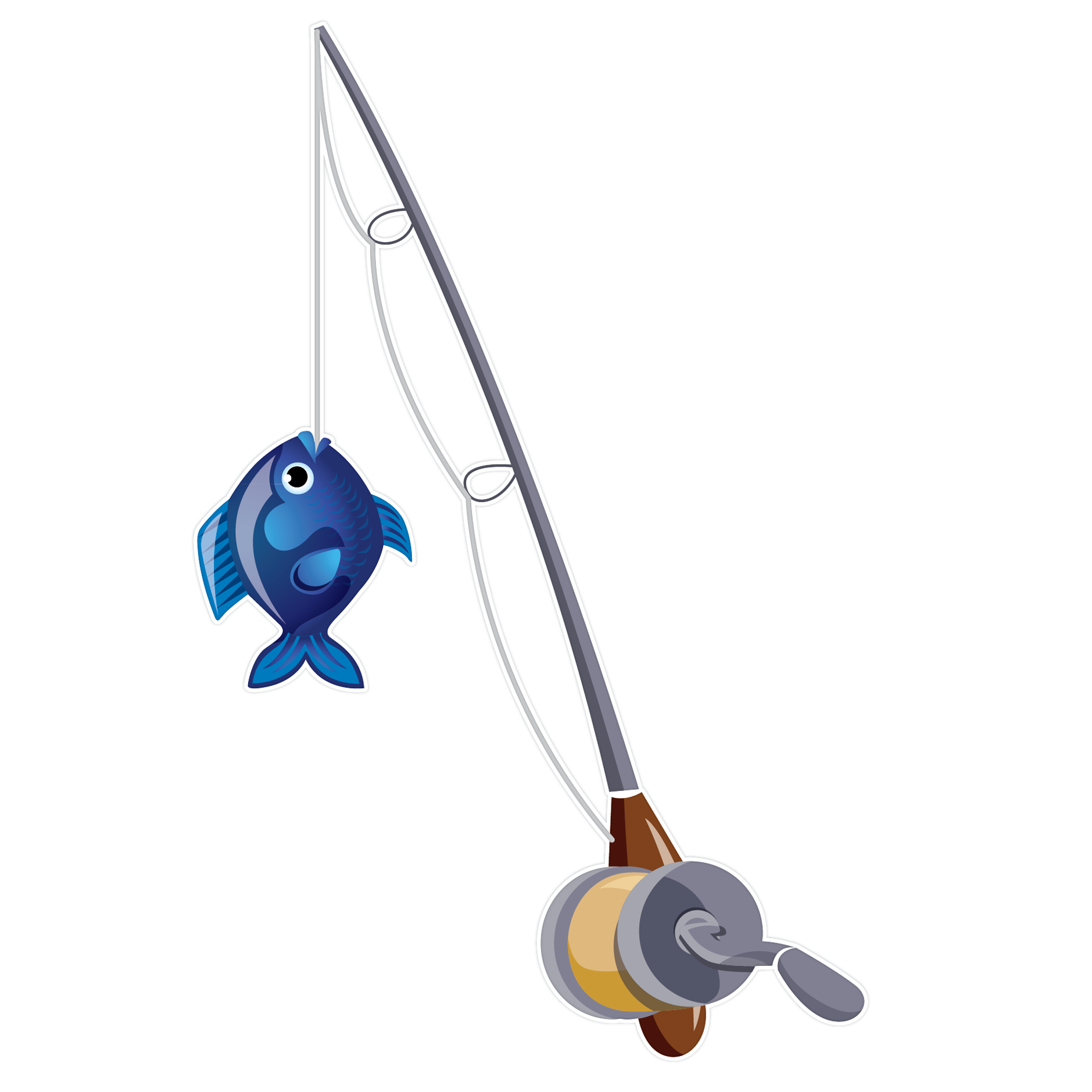 Fishing Rod clipart #12