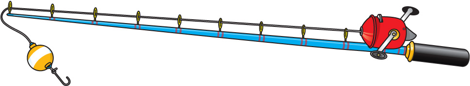 Fishing Rod clipart #11