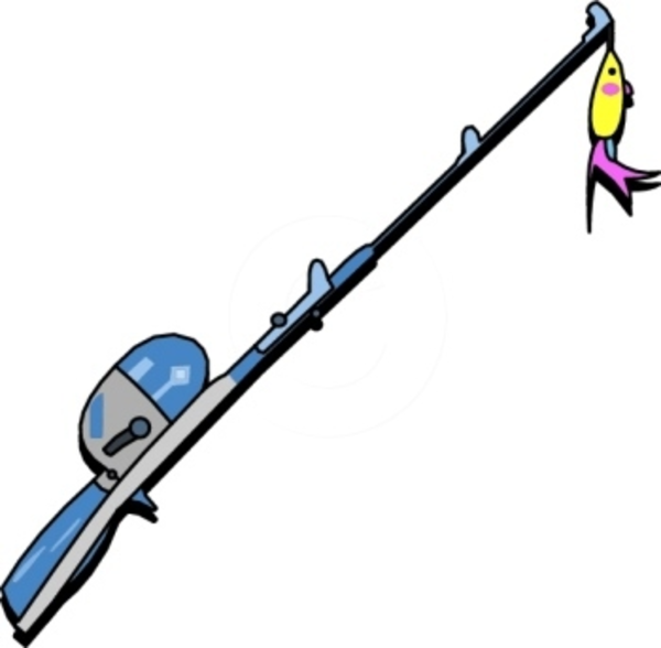 Fishing Rod clipart #5