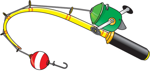 Fishing Rod clipart #10