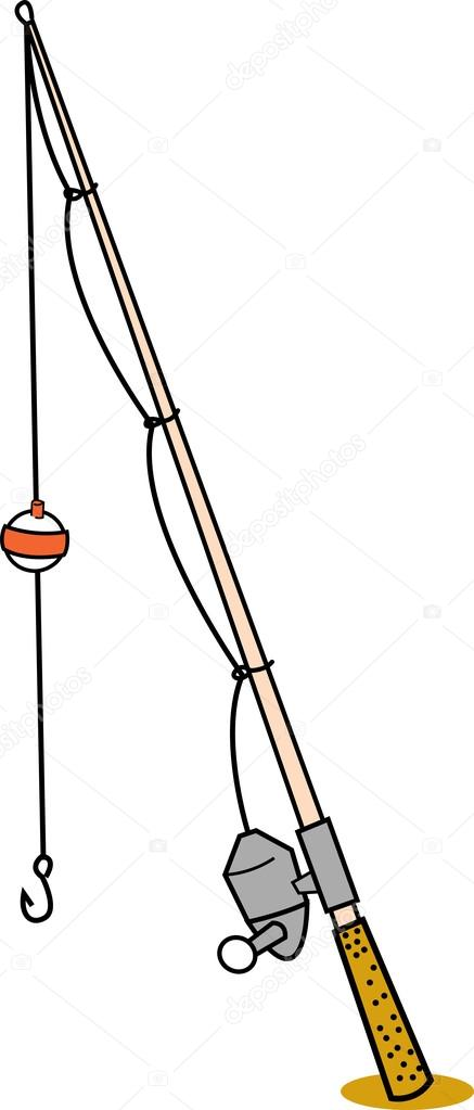 Fishing Rod clipart cartoon Fishing Stock rod Illustration Vector
