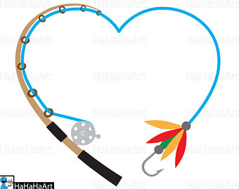 Fishing Rod clipart fishing line #2