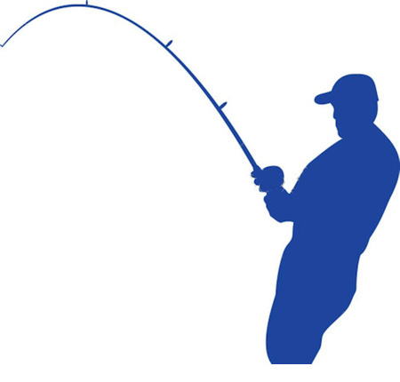 Fishing Rod clipart iron rod Free Art Art Bent on