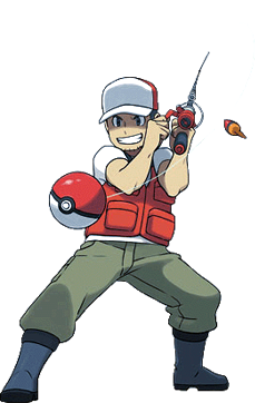 Fishing Rod clipart pokemon Which types (Unlocked accessed and