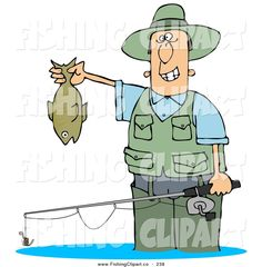 Fishing Rod clipart pokemon Of Fish and Smiling Water